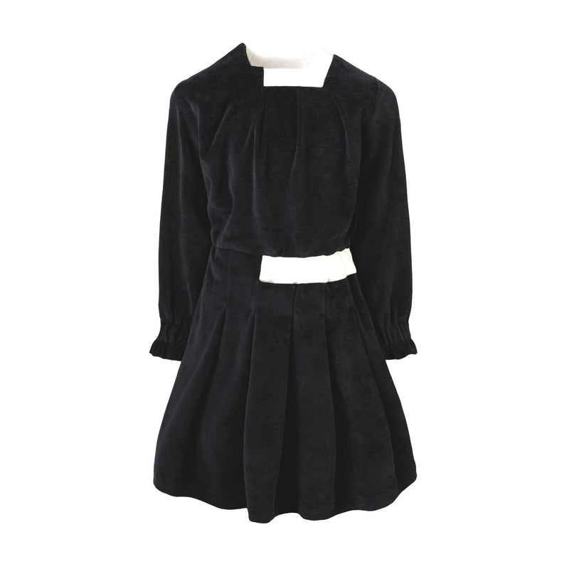 Black Velvet Dress for Girls