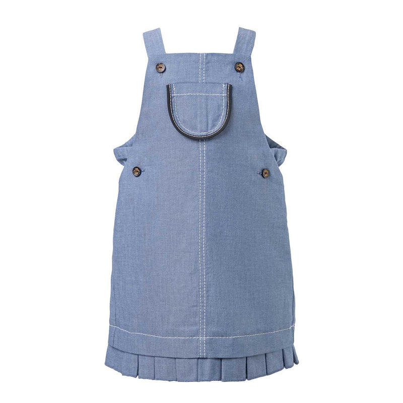 Blue Denim Baby Dress