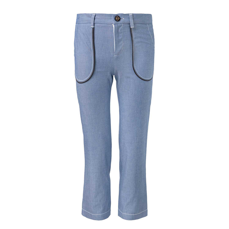 Blue Denim Pants
