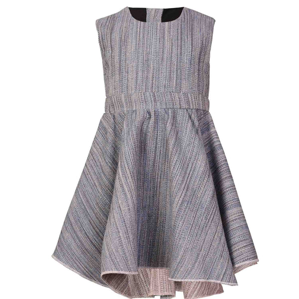 Blue Baby Dress with wide Skirtpart
