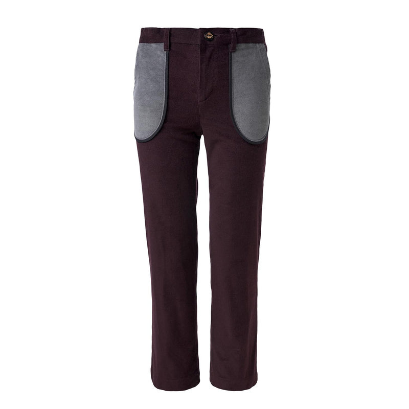 Bordeaux Velour Pants