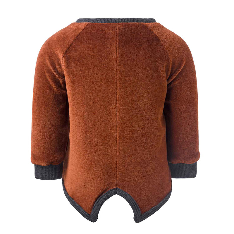 Copper Velvet Baby Jacket