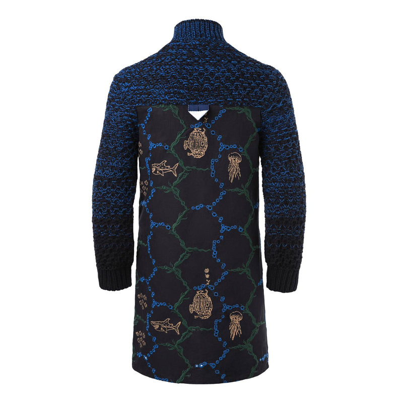 Festive Shirt with Knitwear - Organic Cotton