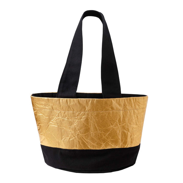 Golden Piñatex Beach Tote