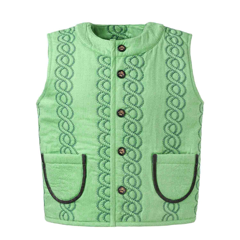 Green Padded Vest