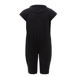 Baby Playsuit with Roll Collar