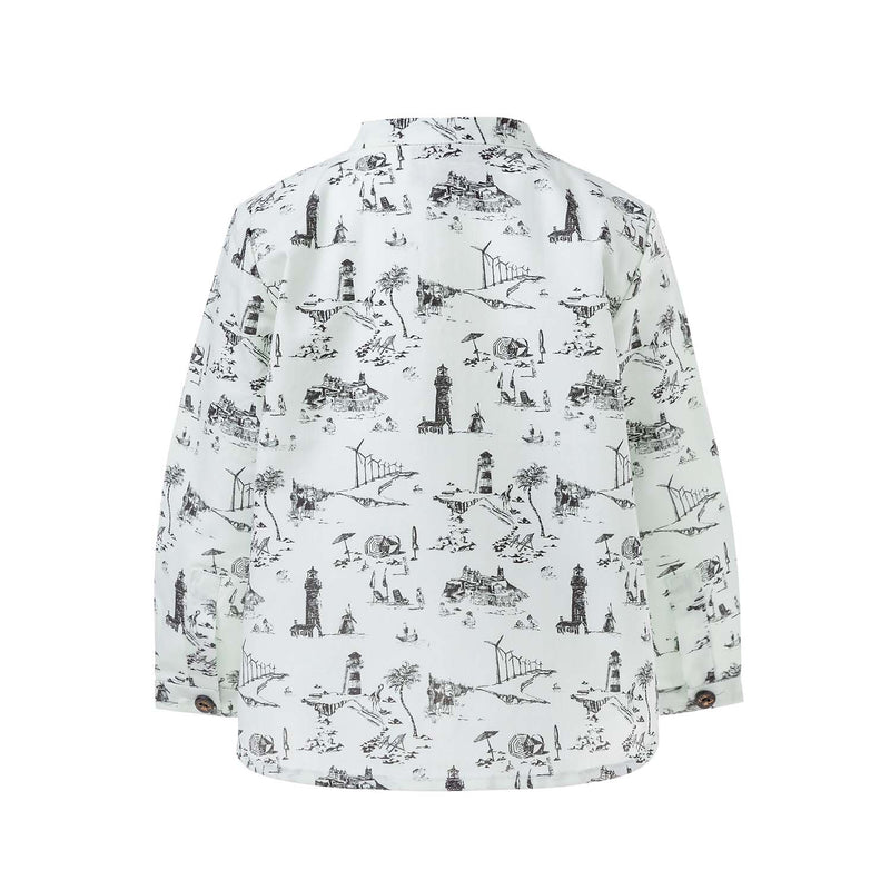 Pocket Shirt with Print