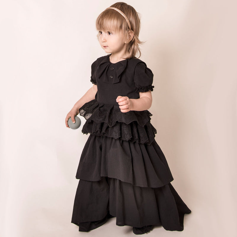 Spiderweb Black Lace Dress