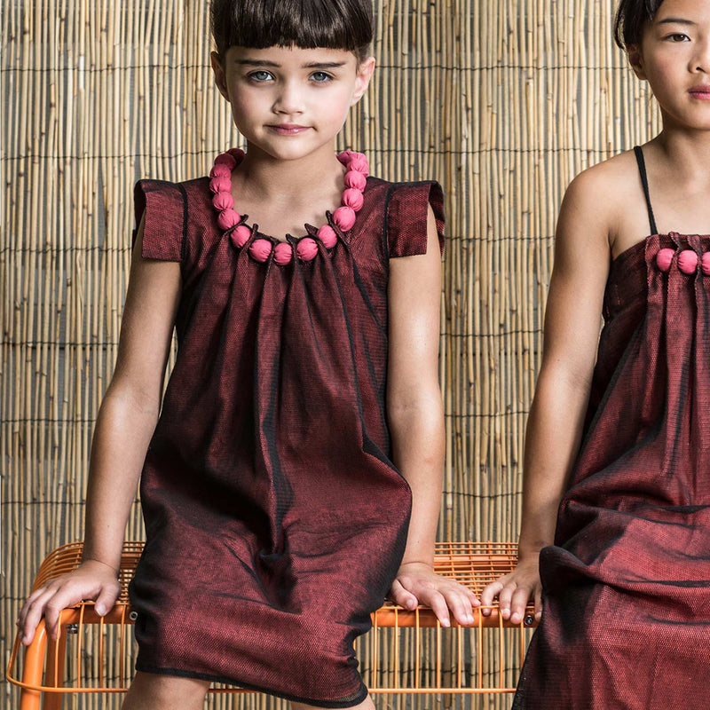 AWARD WINNER - WARRIOR PRINCESS Dress - Organic Cotton Tulle Dress for Girls