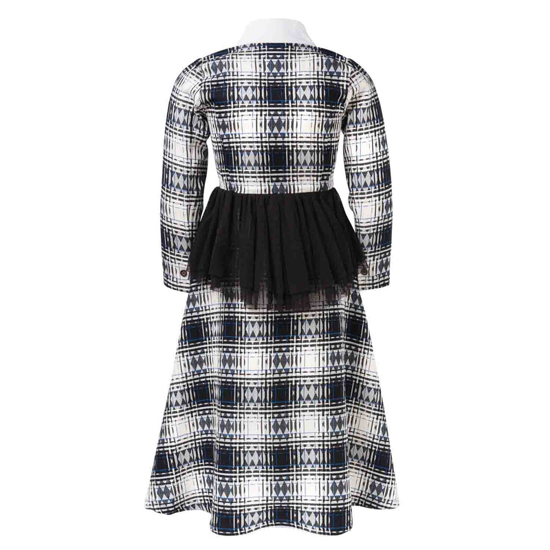 Tartan Bustle Dress