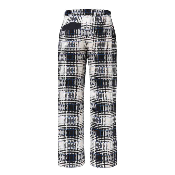 Tartan Cotton Weekend Pants