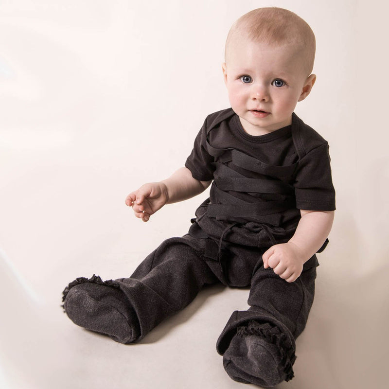 Black Baby Pants goth baby clothes