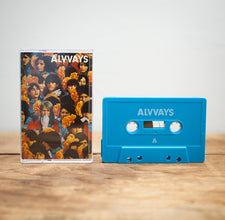 Alvvays ‎– Alvvays - New Cassette 2014 Polyvinyl USA Press (Limited Edition BLUE) with Dowload - Indie Rock