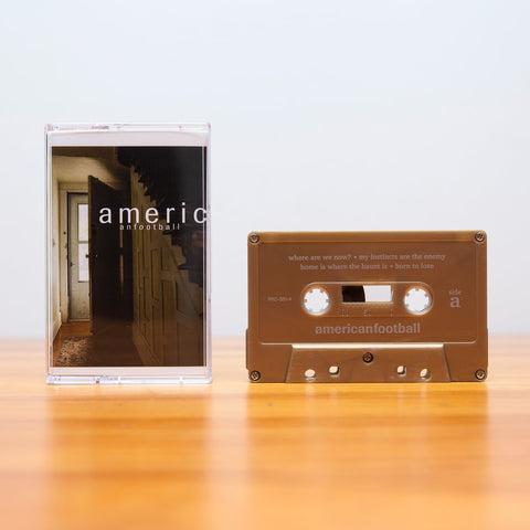 American Football ‎– American Football - New Cassette Tape 2016 Polyvinyl Gold Metallic & Download - Chicago Emo / Math Rock