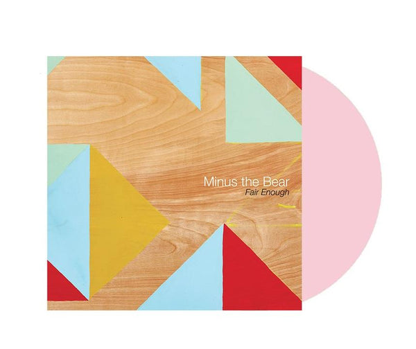 Minus The Bear ‎– Fair Enough - New Vinyl EP 2018 Suicide Squeeze Limited 180gram Reissue on 'Baby Pink' Colored Vinyl with Download - Alt / Math Rock