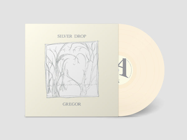 Gregor - Silver Drop - New Vinyl Lp 2018 Chapter Music Limited Edition Pressing on 'Bone' Colored Vinyle with Download - Melbourne, AUS Synth Pop / New Wave