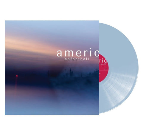 American Football - American Football (LP3)  - New Vinyl Lp 2019 Polyvinyl Limited Pressing on 180gram Light Blue Vinyl with Download - Urbana, IL Emo / Math Rock