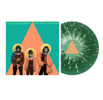 (PRE-ORDER) The Coathangers - The Devil You Know - New Vinyl 2019 Suicide Squeeze Limited Pressing on Kelly Green with White Splatter Vinyl - Garage Punk