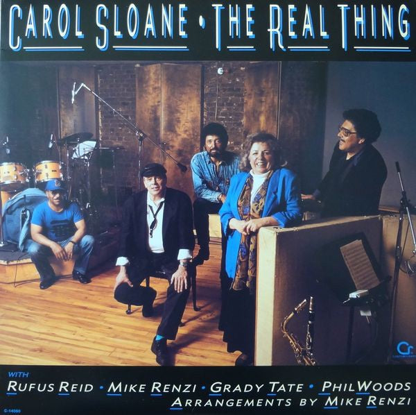 Carol Sloane ‎– The Real Thing - Mint- Lp Record 1990 USA Original Vinyl - Jazz / Vocal