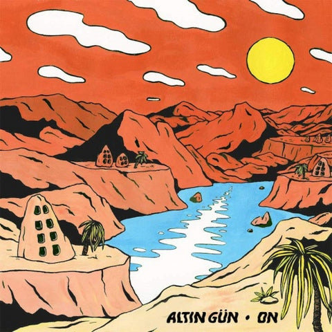 Altın Gün ‎– On - New Record LP 2019 ATO Limited Edition Turquoise/White Swirl Vinyl & Download - Psych Rock / Folk / Funk