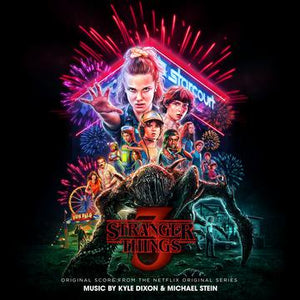 Kyle Dixon & Michael Stein - Stranger Things 3 - New 2 LP Record 2019 Lakeshore Limited Edition Firework Splatter Vinyl - Series Soundtrack