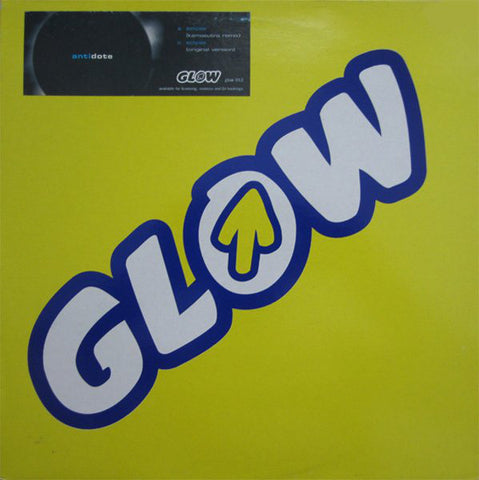 "Antidote ‎– Eclipse VG+ 12"" Single 33RPM 1999 Glow UK - Prog House"