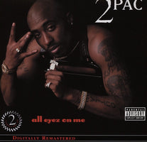 2Pac ‎– All Eyez On Me (1996) - New Vinyl Record 2001 Death Row 4-LP Reissue - Rap / Hip Hop