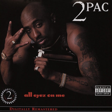 2Pac ‎– All Eyez On Me (1996) - New 4 Lp Record Set 2001 USA Vinyl - Rap / Hip Hop