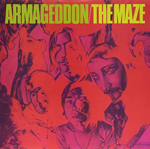 Armageddon - The Maze - New Vinyl 2006 Beat Rocket / Sundazed Reissue on Orange Vinyl - Psych / Rock