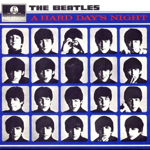 Beatles - A Hard Day's Night - New Vinyl 2012 Parlophone180Gram Reissue (Stereo '2009' Digital Remaster from Original Tapes!) - Pop Rock / Soundtrack