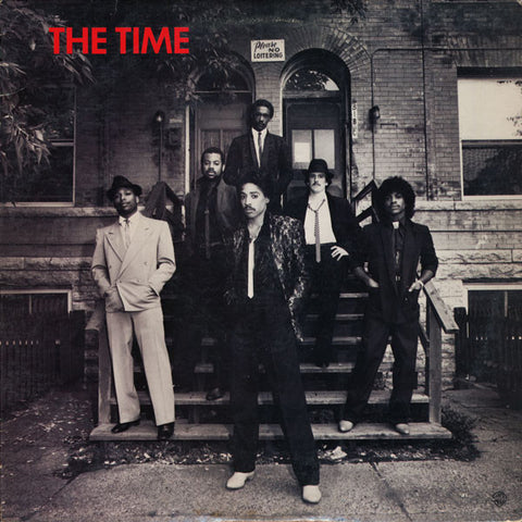 The Time ‎– The Time - VG+ Lp Record 1981 USA Original Vinyl - Funk / Synth-pop