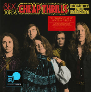 Big Brother & The Holding Co. - Sex, Dope, & Cheap Thrills - New 2018 Record 2 LP 140gram Vinyl Reissue - Blues Rock