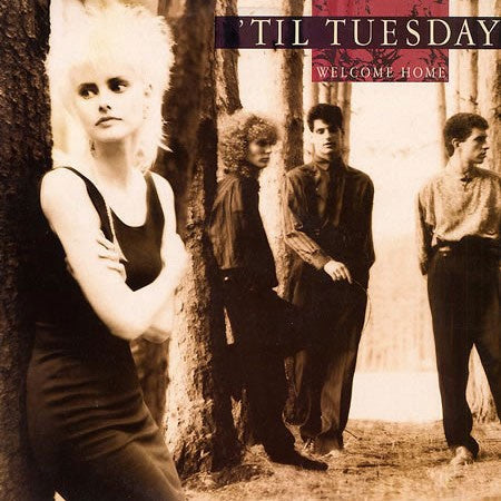 'Til Tuesday ‎– Welcome Home - VG+ Lp Record 1986 Epic USA Vinyl - Synth-pop / Pop Rock