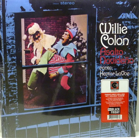 Willie Colon and Hector Levoe - Asalto Navideño - New Lp Record Store Day 2019 Craft USA Black Friday Translucent Red Vinyl - Holiday / Latin / Salsa
