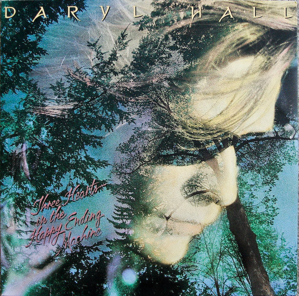 Daryl Hall - Three Hearts In The Happy Ending Machine - Mint- (VG Cover) 1986 USA - Pop/Rock