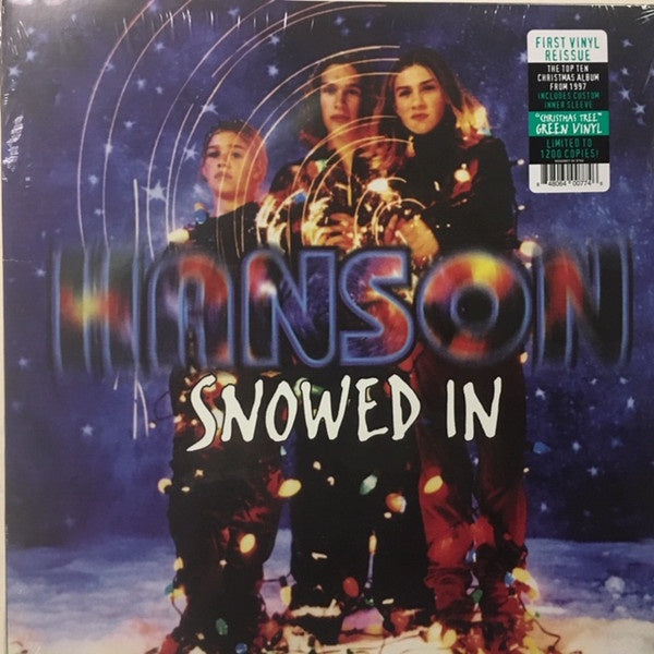 Hanson ‎– Snowed In (1997) - New Vinyl Lp 2018 Real Gone Reissue on 'Christmas Tree Green' Vinyl (Limited to 1200!) - Holiday / Pop Rock