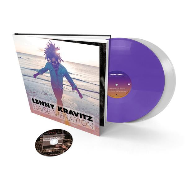 "Lenny Kravitz - Raise Vibration - New Vinyl 2 Lp 2018 BMG Rights Limited Edition Super Deluxe Pressing on Colored Vinyl with 12""x12"" Hardcover Book, CD and Download - Rock"