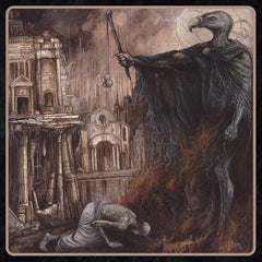 Craven Idol ‎– The Shackles of Mammon - New Vinyl 2017 Dark Descent Gatefold Pressing with Poster + Download - Black Metal / Thrash