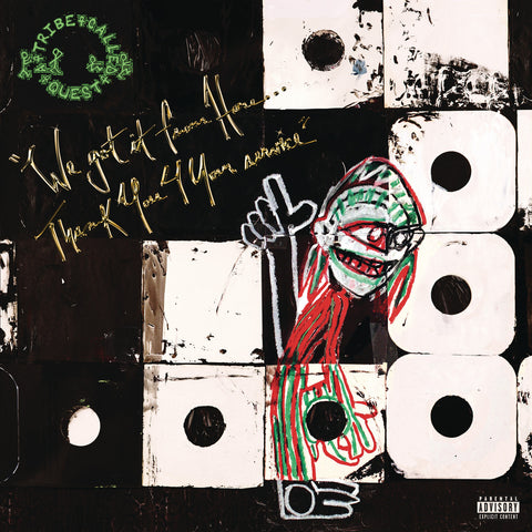 A Tribe Called Quest ‎– We Got It From Here…Thank You 4 Your Service - New 2 Lp Record 2016 Epic USA Vinyl & Download - Rap / Hip Hop