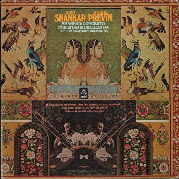 Ravi Shankar & Andre Previn & The London Symphony Orchestra - Concerto For Sitar & Orchestra - VG+ 1971 Stereo USA Original Press - Indian Classical/Sitar