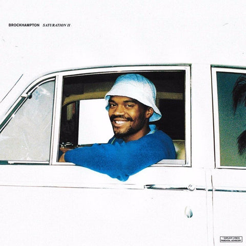Brockhampton ‎– Saturation II - New 2 LP Record 2019 Saturation Europe Import Aqua Marbled Vinyl - Hip Hop / Pop
