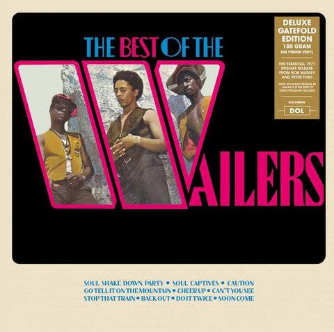 The Wailers ‎– The Best Of The Wailers (1971) - New Lp Record 2017 DOL Europe Import 180 gram Vinyl -Roots Reggae