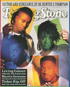 Rolling Stone Magazine - Issue No. 590 - Living Colour
