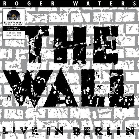 Roger Waters - The Wall (Live In Berlin) - New 2 LP Record Store Day 2020 UME Limited Edition 180 Gram Clear Colored Vinyl - Rock