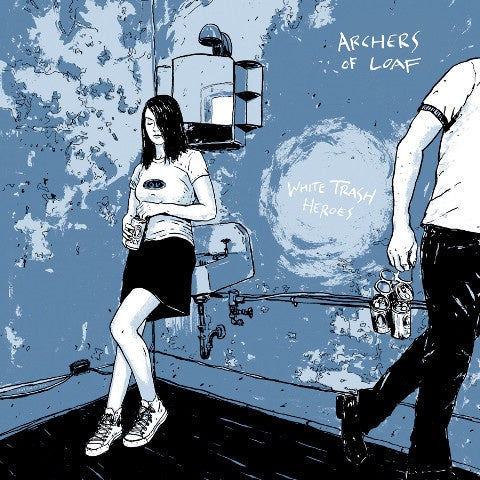 Archers Of Loaf ‎– White Trash Heroes (1998) - New Vinyl Lp 2012 Merge Records Limited Editon Reissue on White Vinyl with Gatefold Jacket and Download - Alt-Rock