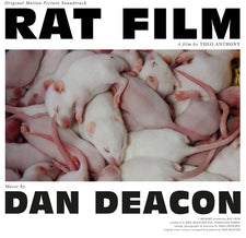 Dan Deacon - Rat Film (Original Film Score) - New Vinyl 2017 Domino Recordings Pressing - Soundtrack / Score
