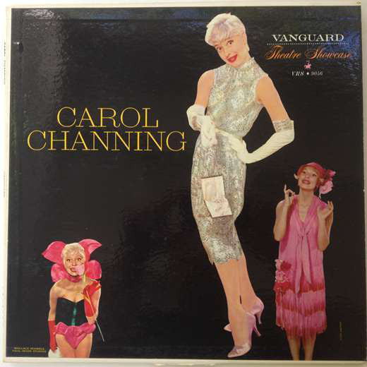 Carol Channing - Vanguard Theatre Showcase - VG+ 1958 Mono USA Original Press - Comedy
