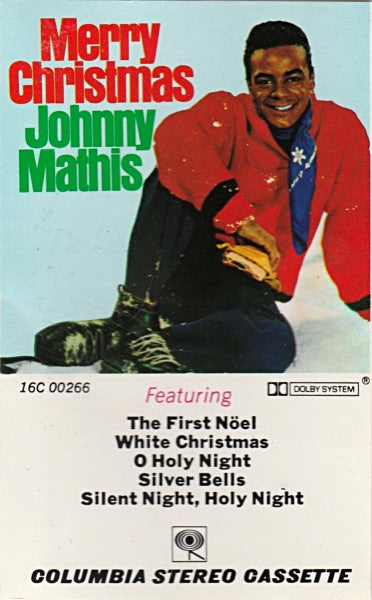 johnny mathis with percy faith and his orchestra merry christmas used cassette tape columbia usa holiday pop - Johnny Mathis Merry Christmas