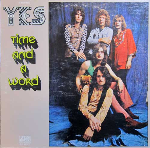 Yes - Time And A Word - VG+ 1970 Stereo USA - Rock/Prog Rock