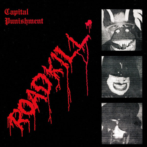 Capital Punishment - Roadkill - New Vinyl Lp 2018 Captured Tracks Limited Edition Reissue on Red Vinyl with Booklet and Download - Post-Punk / No Wave / Experimental